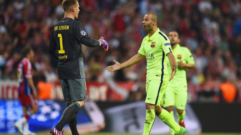 Тер Щеген показа, че заслужава мястото си в Барселона и ще бъде един от ключовите футболисти за Луис Енрике в Берлин