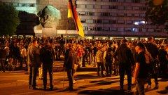 Мобилизацията на националистическите фракции в Кемниц изненада местната полиция
