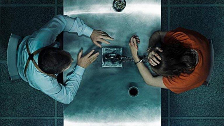 Interrogation  (CBS)    Сериалът е вдъхновен от истинска история за мъж, осъден за убийството на майка си, който е прекарал две десетилетия в опити да докаже невинността си. Тази оригинална продукция на CBS ще има всички епизоди, достъпни за излъчване наведнъж и е предназначена за гледане в произволен ред (освен първия и последния). Епизодите са структурирани главно като поредица от разпити.     Питър Сарсгаард, Кайл Галнър и Дейвид Стратърн оглавяват актьорския състав на сътворената от Андерс Вайдеман и Йоан Манкевич история. Премиерата е на 6 февруари по CBS All Access.