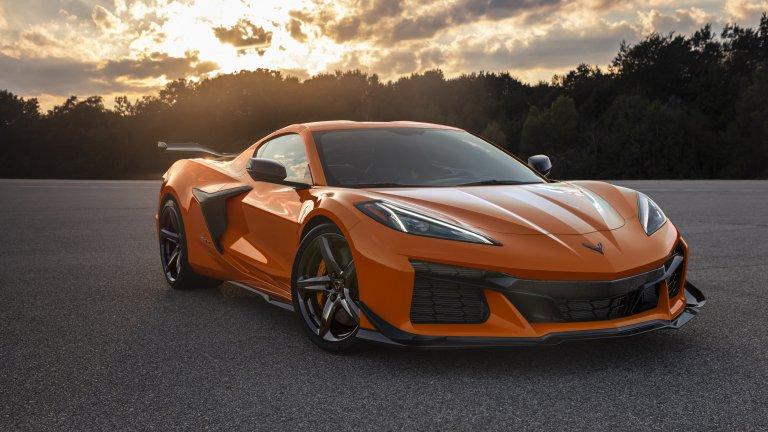 Corvette Z06 се хвали с впечатляващите 670 конски сили, които идват от осемцилиндров двигател