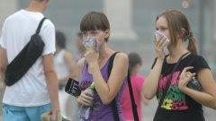 Москва отново е в дим от горските пожари. Мирисът на изгоряло се усеща в много райони на мегаполиса.