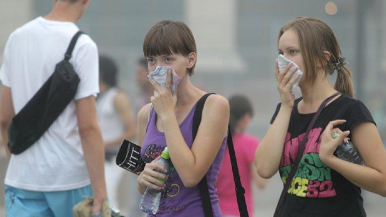 Откакто през последните седмици Москва преживява димни атаки, концентрацията на лютивия пушек е най-високата досега