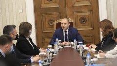 Президентът Радев не изключи възможността да трети мандат за съставяне на правителство