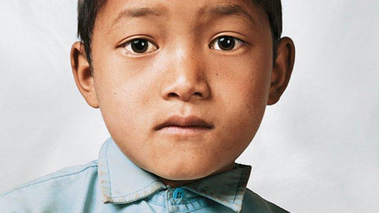 Бикрам, на 9 г., от Бикрамчи, Непал