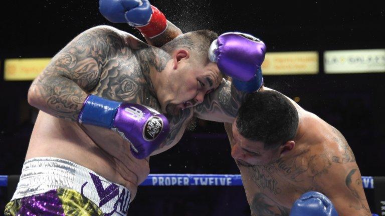 Стопилият се Анди Руис стъпи на крака след ранен нокдаун и взе победата