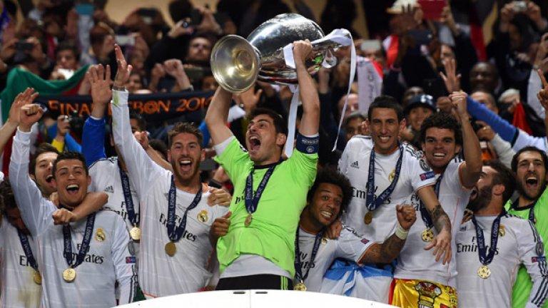 Вратар: Икер Касияс (156 мача) Испанският страж държи рекорда за най-много мачове в Шампионската лига. Касияс вдигна трофея на три пъти с Реал Мадрид – през 2000, 2002 и като капитан през 2014 г. Година по-късно се присъедини към Порто, където и стана №1 по участия в най-престижния европейски клубен турнир.