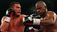 Кубрат съсипа с тежки удари американеца Томпсън в най-силния си бой до момента на професионалния ринг.