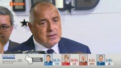 """""""Всички обичат да говорят за промяна, но промяната започна от ГЕРБ"""", коментира премиерът."""