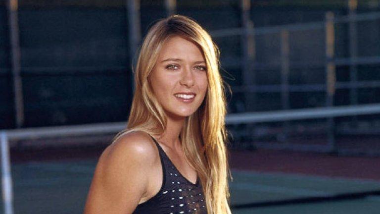 Мария Шарапова печели най-много в женския спорт
