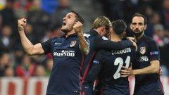 Драма, изуснати дузпи и гафове на реферите: Атлетико хлъзна Байерн и е на финал