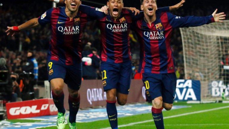 Нямаше как да ги разделим... Най-перфектното сътрудничество във футболния свят в момента...