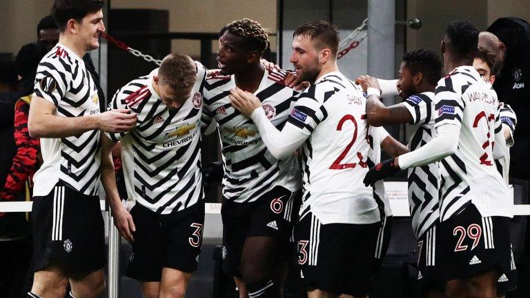 С героично включване на Погба Юнайтед преодоля Милан