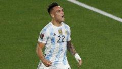 Защо Лаутаро Мартинес се разплака на пейката, след като вкара за Аржентина?