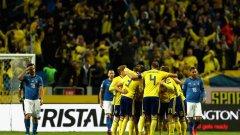 Шведите измъкнаха ценния успех пред погледа на Златан Ибрахимович, който се отказа от националния отбор след Евро 2016