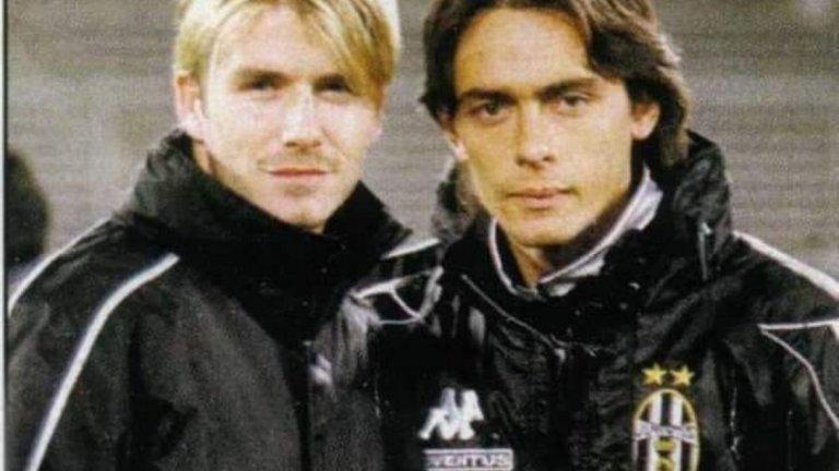 Дейвид Бекъм още играеше за Манчестър Юнайтед, а Филипо Индзаги - за Ювентус...