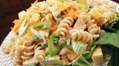 пълнозърнестата паста най-добре се съчетава с обилно песто, от рода на видовете, съдържащи спанак и орехи