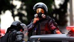 16 от убитите са били обезглавени (на снимката: полицаи от бразилски отряд за справяне с бунтове, архив, Getty)