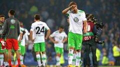 Никлас Бендтнер отбеляза първите си две попадения за Волфсбург. Вижте и реакцията в Twitter..