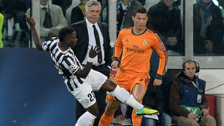 "Кристиано успя да отбележи дежурния си гол и на ""Ювентус Стейдиум""."