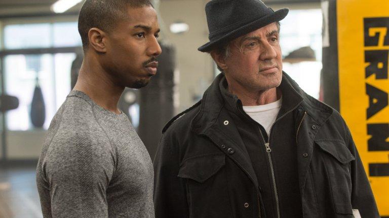 """Джордан през последните години се снима в двата филма от поредицата """"Крийд"""" със Силвестър Сталоун - боксова драма, продължение на """"Роки""""."""
