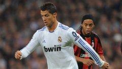 Роналдиньо провалил трансфера на Кристиано Роналдо в Барселона