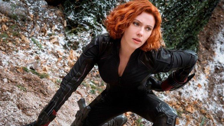 Йохансон е и Черната вдовица - Наташа Романов в екипа на Отмъстителите.