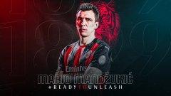 Златан приветства Манджукич в Милан: Сега двамата ще плашим противниците ни!