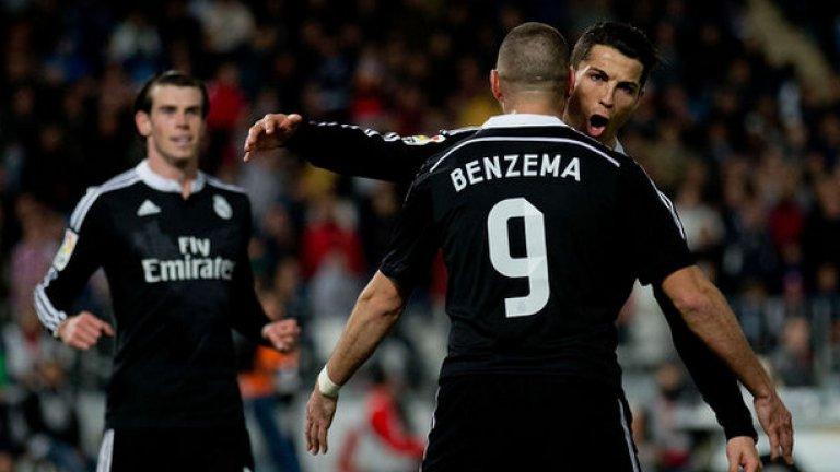 """1 Карим Бензема В последно време усилено се говори за трансфер на Карим Бензема далеч от """"Бернабеу"""". Френският нападател е искан от Арсенал и Манчестър Юнайтед и е много възможно да напусне Реал, като """"кралете"""" имат нови планове за атаката си."""