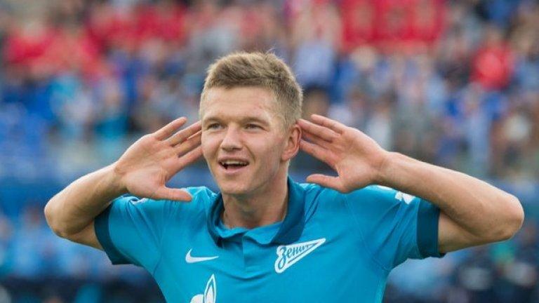 Олег Шатов (Русия). Халфът на Зенит непрекъснато прогресира, наложи се в националния отбор и привлече интереса на редица западни клубове.