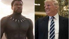 """Последвалото премахване на държавата от филма """"Черната пантера"""" от списъка с партньори на САЩ доведе до шеги - да не би да са започнали търговска война?"""