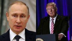 Първата среща на Тръмп и Путин
