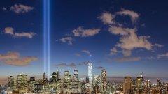 Както всяка година ще бъдат задействани светлинните стълбове, които наподобяват рухналите Кули близнаци