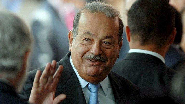 Мексиканският милиардер Карлос Слим Хелу вече е най-богатият човек на света с общо $53.5 млрд.