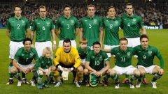 Единайсеторката на Ейре във втория плейоф за класиране на Евро 2012 срещу Естония, завършил 1:1