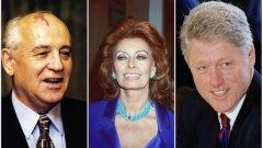 """Михаил Горбачов, София Лорен и Бил Клинтън са сред неочакваните световноизвестни личности, печелили статуетка """"Грами"""". Те са носители на приза през 2004-та година за аудиоверсията на детската приказка """"Петя и вълкът"""" по музика на Прокофиев.  Бил Клинтън печели наградата и втори път - през 2005-та - за озвучаването на автобиографията """"Моят живот"""""""