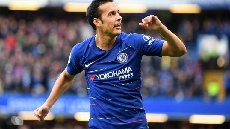 """Педро (Челси)  Само три мача във Висшата лига този сезон - Педро също става жертва на подмладяването на Челси и смелото налагане на младите от страна на мениджъра. Пулишич, Хъдсън-Одой и Мейсън Маунт са бъдещето на """"сините"""" по крилата, докато пред 32-годишния Педро стои завръщане в Испания или авантюра с Фенербахче в Турция."""