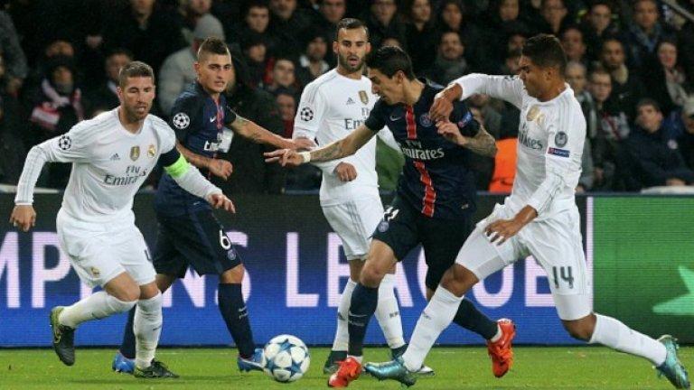 ПСЖ изравни рекорда за най-малко допуснати попадения в груповата фаза – 1. Нелошо постижение в група с Реал (Мадрид) и Кристиано Роналдо, който наниза цели 11 попадения в групите.