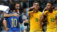 Аржентина отново няма да успее в битката за трофея, финалът ще бъде Бразилия - Испания