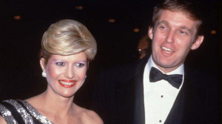 Доналд Тръмп и Иванка Тръмп  Сега може и да звучи невероятно, но и великият Доналд Тръмп някога е бил осъждан да плати на бивша съпруга. Когато се развежда с Иванка Тръмп в началото на 90-те, милиардерът се разделя и с 20 млн. долара, плюс 14 милиона в недвижимо имущество.