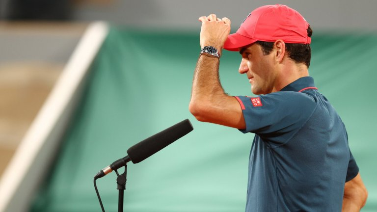 Федерер се оттегли от Ролан Гарос