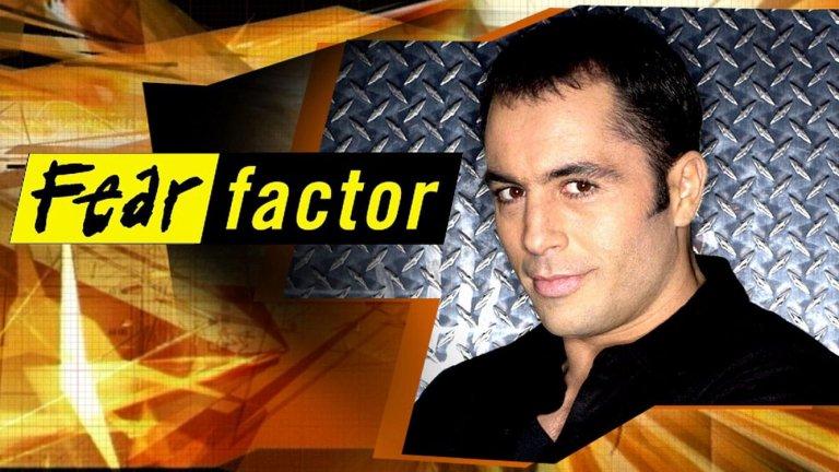 Джо Роугън като водещ на Fear Factor