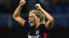 """Ето как се прави по """"футболния начин"""": Звезда на Лион се похвали с исторически за женския футбол договор"""