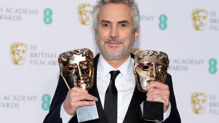 """Фаворит за най-добър режисьор: Алфонсо Куарон (""""Рома"""")  Подобно на очакванията за """"Най-добър филм"""", и тук доминацията на """"Рома"""" и неговия режисьор Куарон е пълна. Втори по шансове, макар и доста назад, се нарежда Спайк Лий (BlacKkKlansman)."""