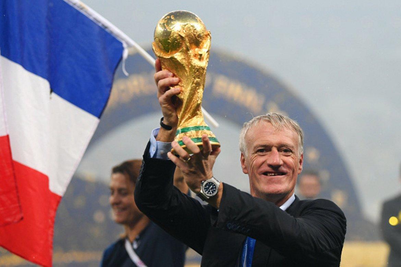 Дидие Дешан - световна титла с Франция