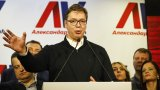 Много по-назад и на второ място остава досегашният коалиционен партньор на Сръбската прогресивна партия