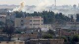 Това се случва по време на офанзивата на Турция в района