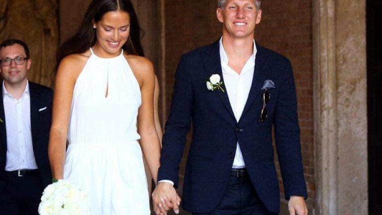 Сватбата на Швайни с Ана Иванович беше преди три години