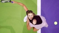 Мария Шарапова на турнира в Мадрид, 2007 г.