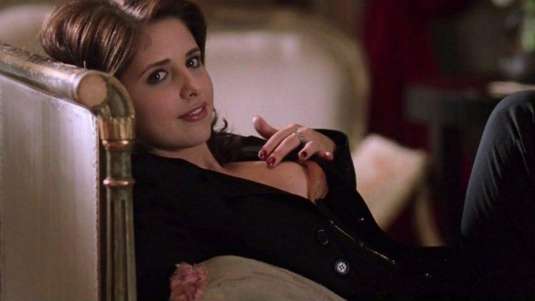 """Въпреки че Сара Мишел Гелар беше скандално перверзна и прелъстителна във филма """"Секс игри"""", самата актриса е в редиците на отказващите голи сцени. Тя дори е отказвала интерсни роли заради изискването да покаже гърдите си в тях."""