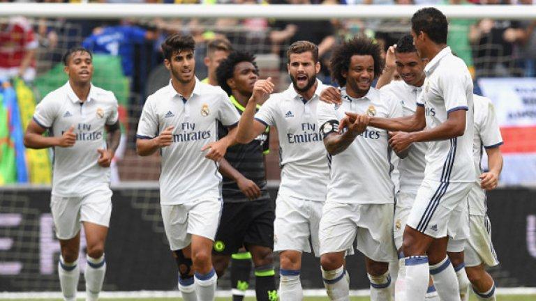 """Реал Мадрид  Най-малко вероятният вариант е Погба да премине на """"Бернабеу"""". """"Белия балет"""" досега не е подписвал с играч, представляван от Мино Райола, защото Флорентино Перес няма желание да преговаря със суперагента. А клубът предвижда големи харчове за реконструкция на стадиона си. Но от друга страна, Реал отдавна не е правил галактически трансфер, а в халфовата линия Лука Модрич вече е на 33 г., докато Дани Себайос не е убедил, че заслужава титулярно място."""